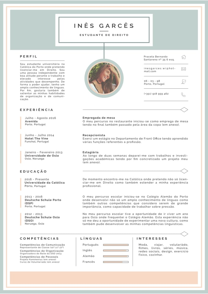 I Will Design An Awesome CV For You
