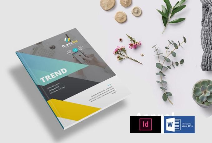 Edit Design Format Pdf Booklet Magazine Proposal Report
