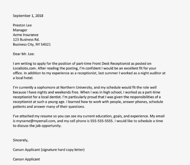 Write the best cover letter by Lucas018