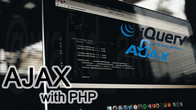 do ajax jquery job with PHP include database functionality