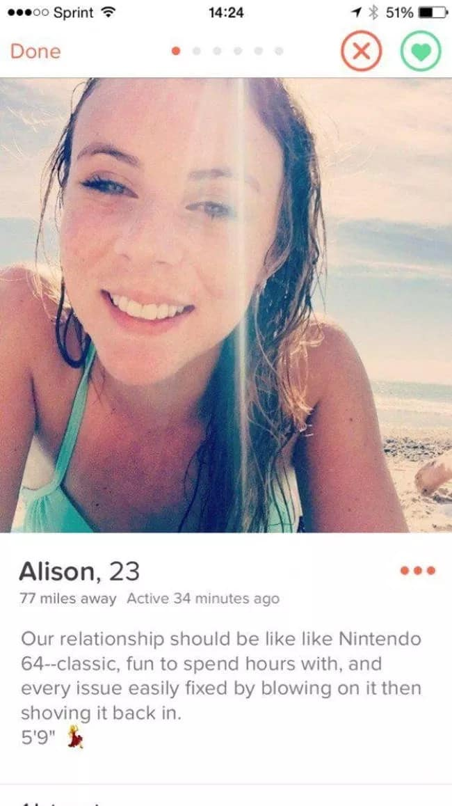 Awesome online dating profil exempel