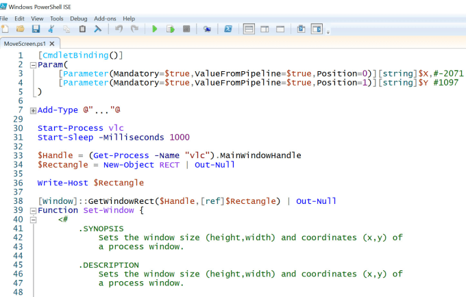 create a powershell script that fits your needs