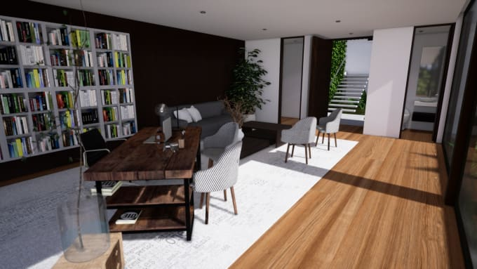 create a interactive archviz VR experiences in unreal engine 4