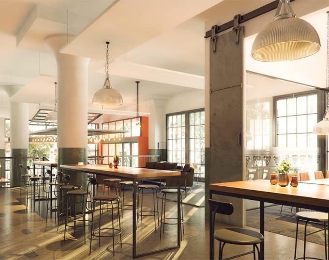 3d rendering interior design by 3ds max ,interior designer