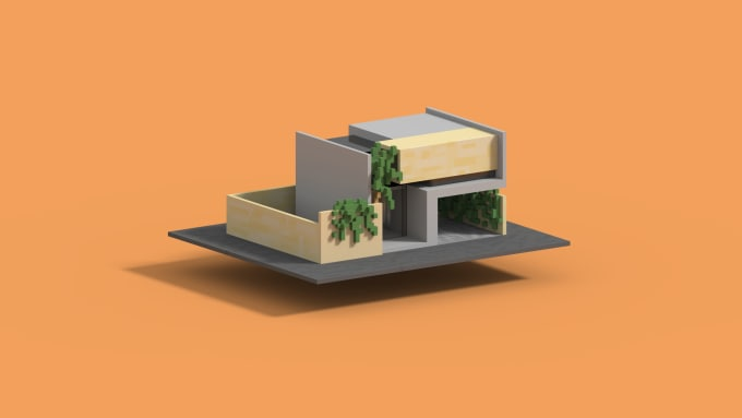 robertdraganesu : I will design what you want in magicavoxel for $5 on  www fiverr com