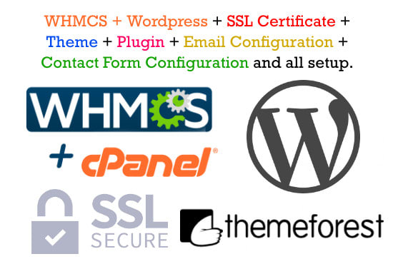 Whmcs Wordpress With Theme Ssl Plugin And Configuration By Waqarr