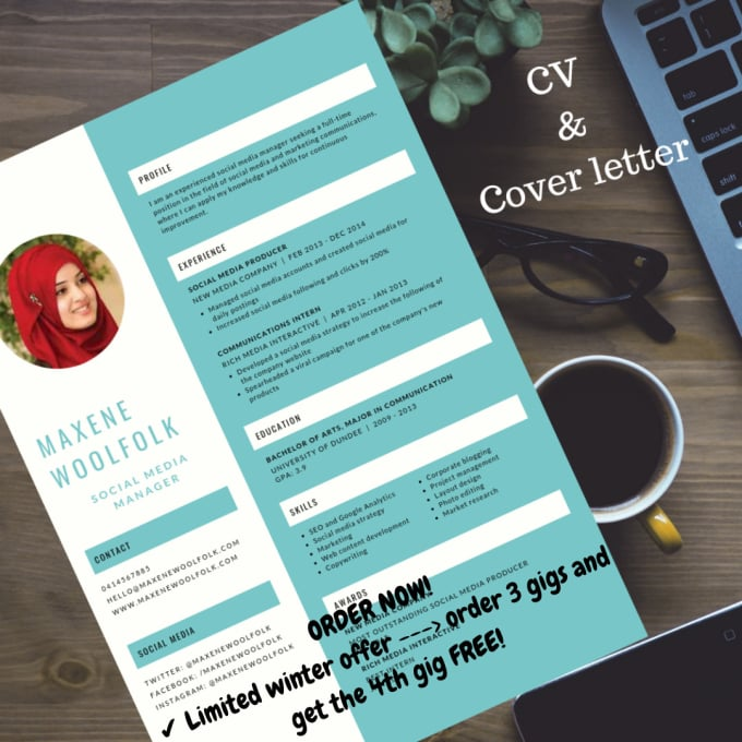 write a brilliant resume, cover letters, and cv