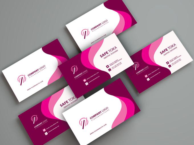 design unique custom and simple business card design