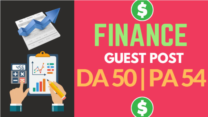 do guest post on high quality finance blog