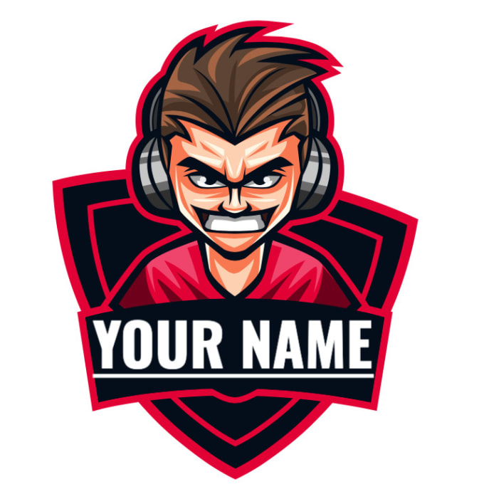 Custom Youtube Channel Design: Make A Gaming Logo For Youtube Or Twitch Channel By Rueben_