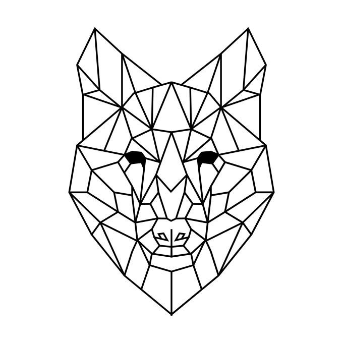 Draw A Simple Geometric Animal