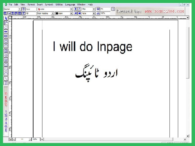kuchsekho : I will do urdu typing inpage ms word, excel or inpage for $5 on  www fiverr com