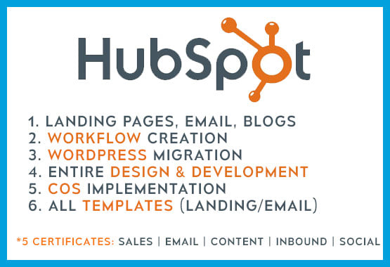 do expert hubspot marketing and sales automation, CRM