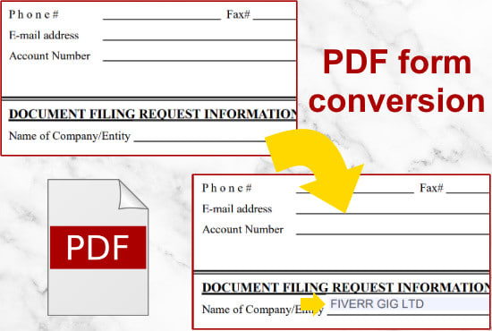 create or edit your document into a fillable PDF form