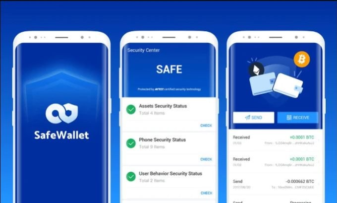 develop crypto wallet app for you both on android and IOS
