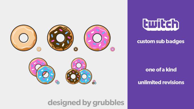 create custom twitch sub badges