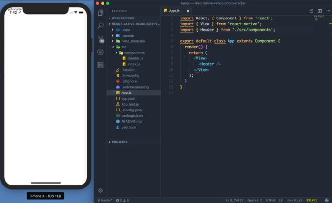 chriscallwait : I will do great react native or nativescript application  for $150 on www fiverr com