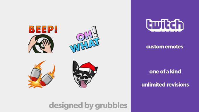 create custom twitch emotes