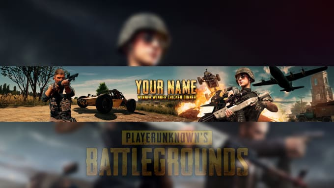 Aviralshukla877 I Will Pubg Youtube Chanel Art Or Banner For 5 On Wwwfiverrcom