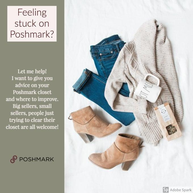 review and optimize your poshmark closet