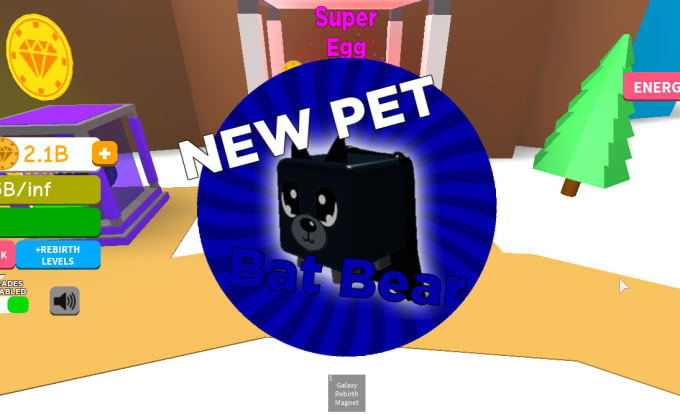 sell you top tier pets in roblox magnet simulator