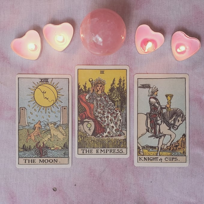 Do A Simple Love Tarot Reading In 24 Hrs By Moonbunnytarot