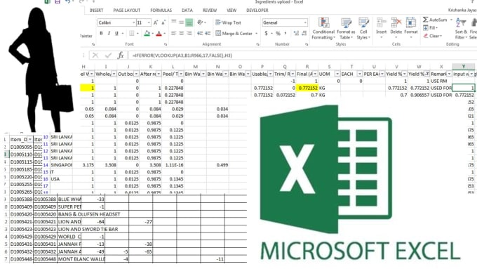 krishanka_ : I will help you with all your excel problems for $15 on  www fiverr com