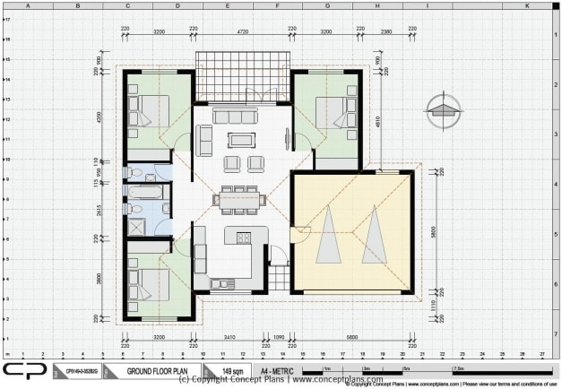 floor plans and other 2d drawings
