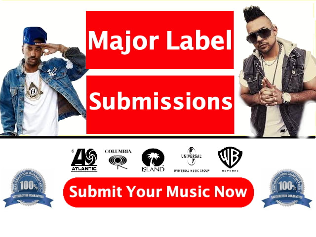 submit your songs to record labels