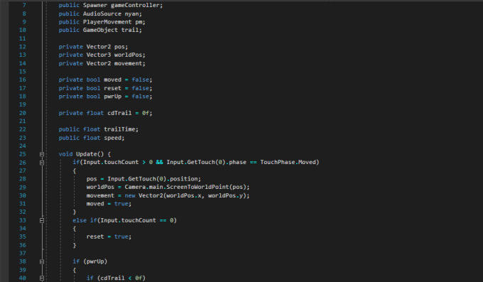 moneyforbills : I will do c sharp script for your unity project for $5 on  www fiverr com
