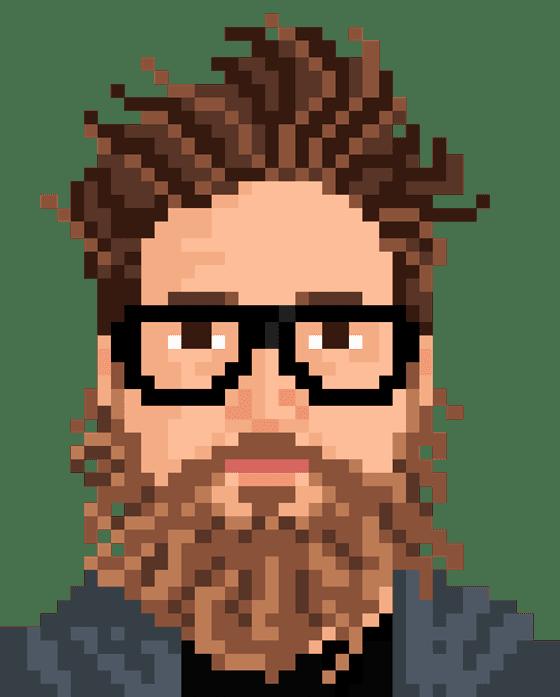 draw your pixelated portrait