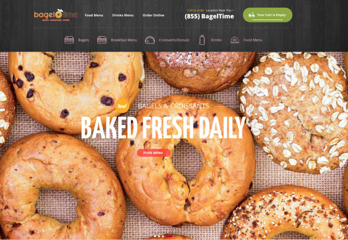 Webmazing I Will Give You A Restaurant Website With Cms For 495 On Www Fiverr Com