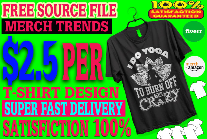 30408e03 Do trendy t shirt design for merch by amazon in 24 hours by Tania769