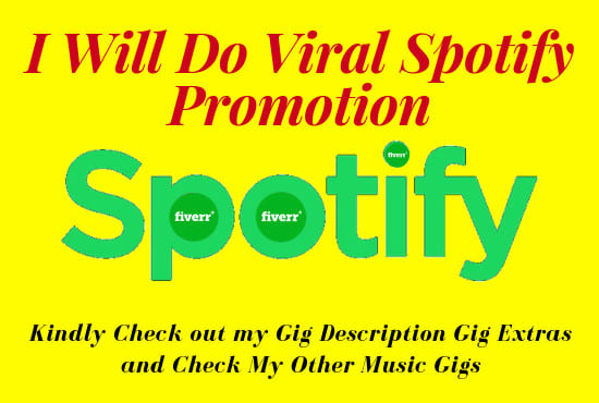 do viral spotify and best music promotion