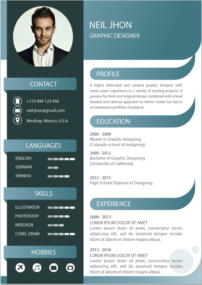 Edit And Reshape Your Resume And Cv Cover Letter And Linkedin Profile