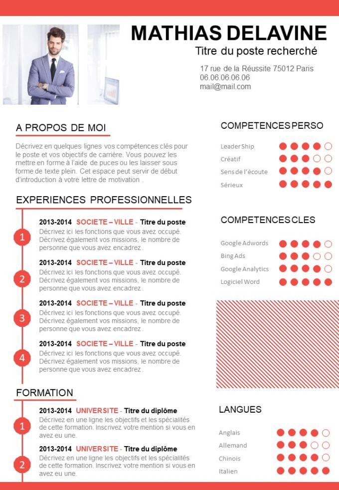 Perform Professional Resume Design And Cv Design By Yassine321
