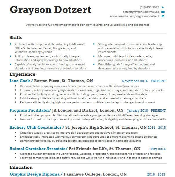 do resume, cover letter or linkedin creation or editing