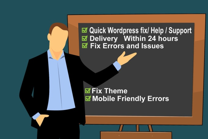 fix all wordpress issues and problems in 24 hours