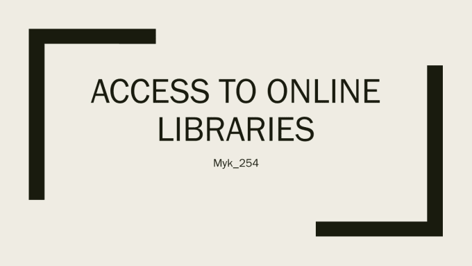 Provide Access To Online Libraries For Your Essays By Myk Provide Access To Online Libraries For Your Essays