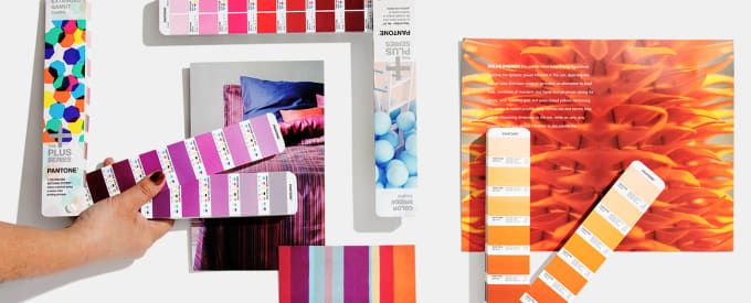 convert your vector design from cmyk, rgb to pantone colors