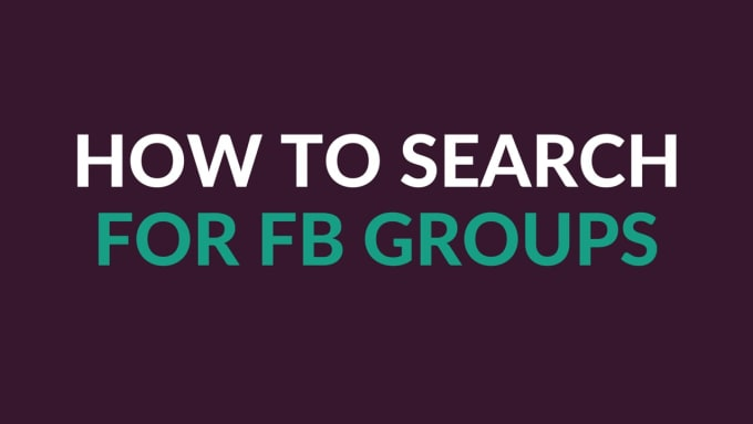 badrrca : I will search and auto join groups facebook with keyword for $5  on www fiverr com