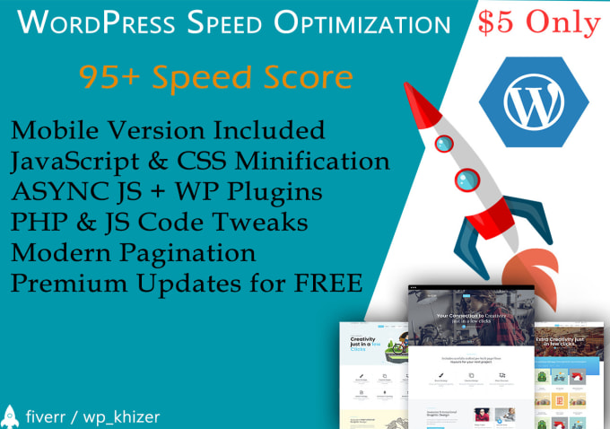 I will do advanced wordpress speed up optimization