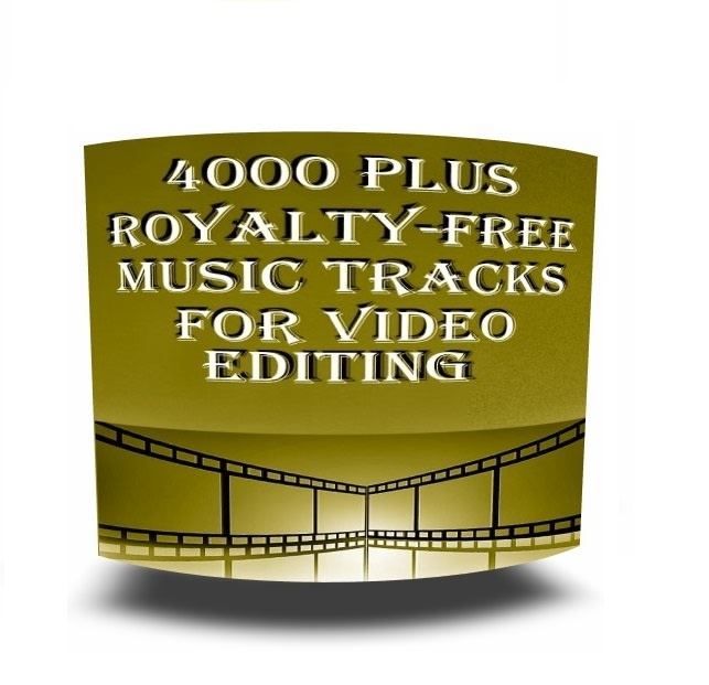 give 4000 plus royalty free music audio tracks with resell rights