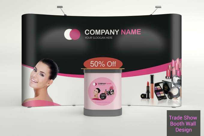 design pop up, roll up, trade show, billboard banner