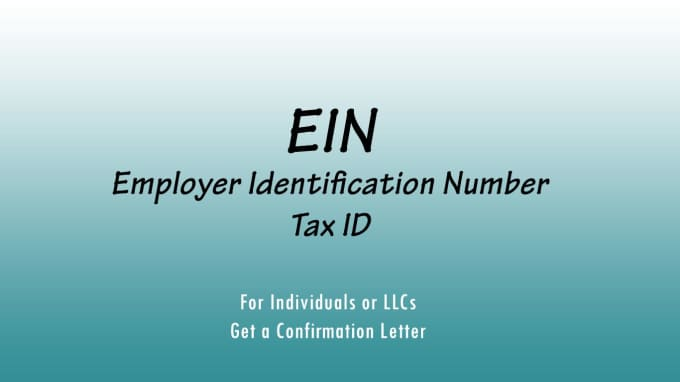 Ein Letter Irs.Get You An Ein And A Confirmation Letter From Irs