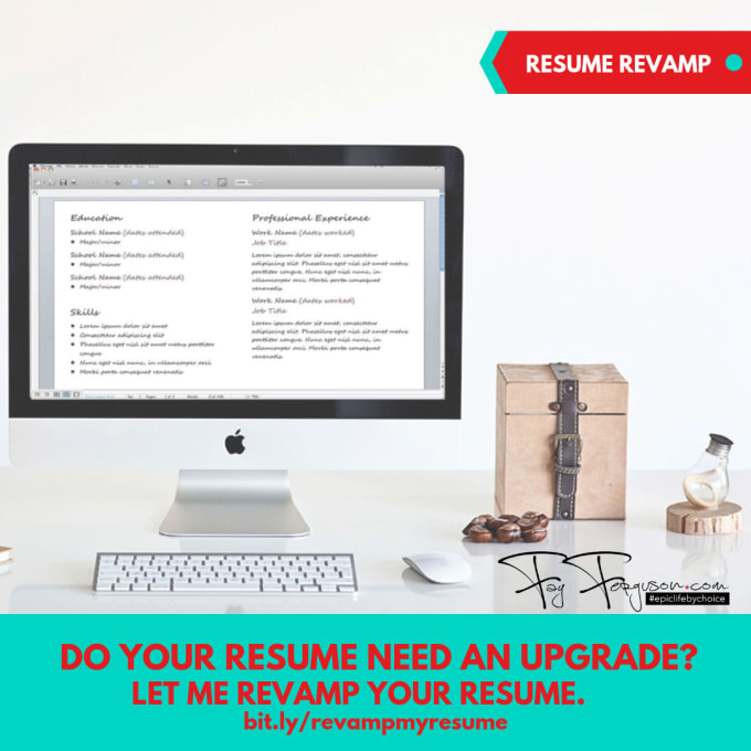 Revamp Your Resume So You Stand Out