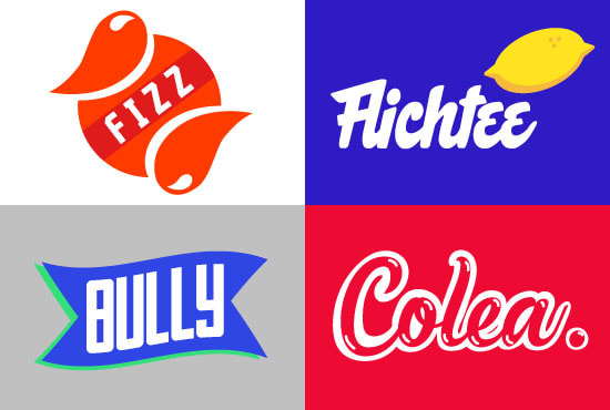 design your soft drink company logo
