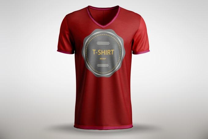create t shirt design at professionally