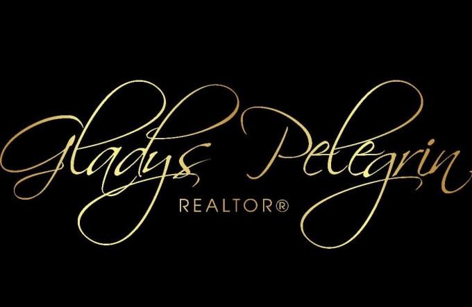 design real estate relator logo with brand signature concept