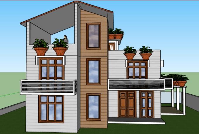 Do Your Dream House Design 3d Model